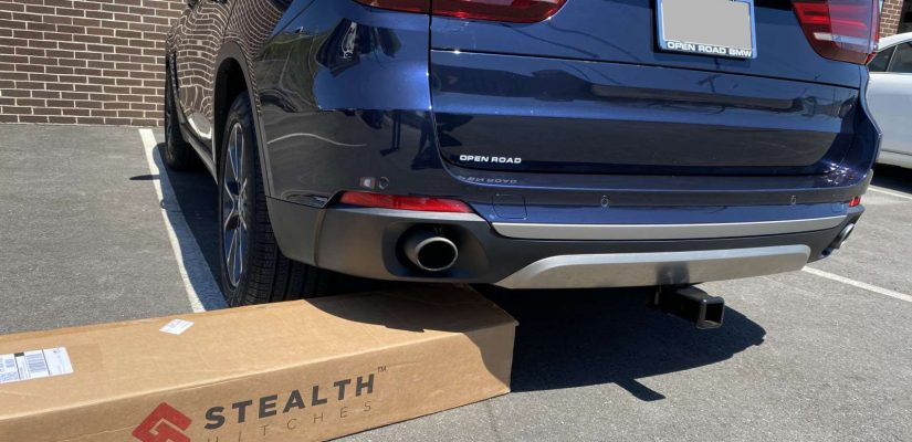 2018 BMW X5 Stealth hitch installation