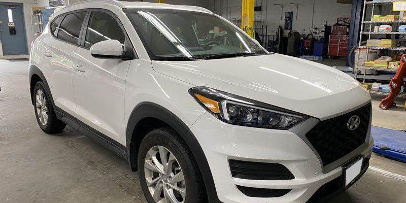 2019 Hyundai Tucson repair