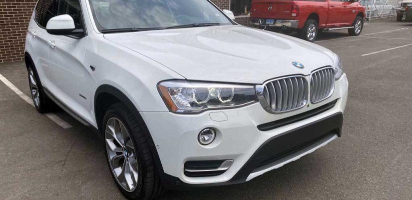 2015 BMW X3 Rear bumper repair