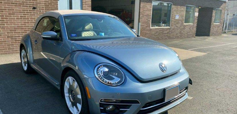 2019 VW Beetle front damage repair