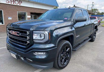 2017 GMC Sierra Dent & Scratch Repair