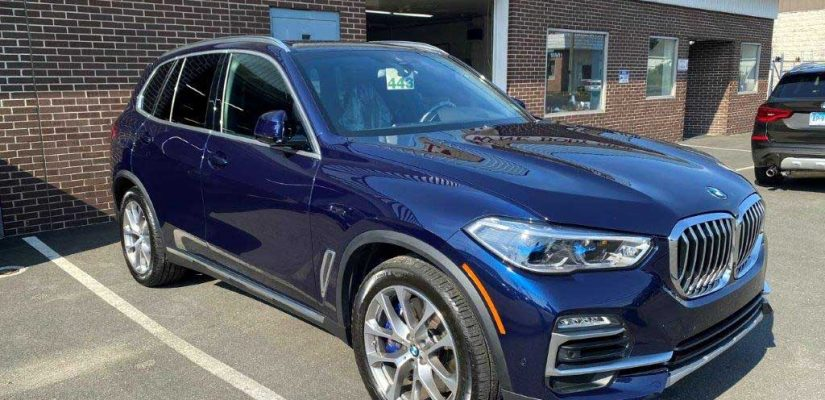 2020 BMW X5 right side damage repair