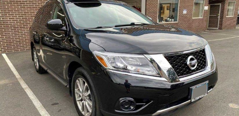 2015 Nissan Pathfinder front damage repair