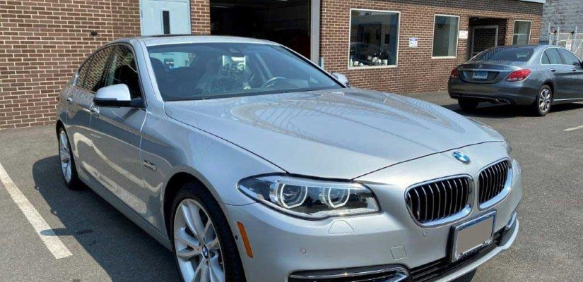 2015 BMW 535XI rear damage repair