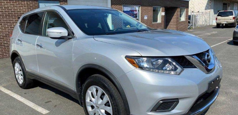 2015 Nissan Rogue front and side damage repair