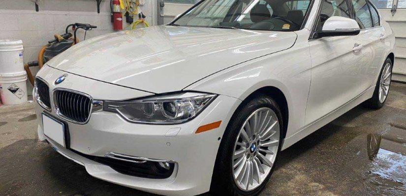 2014 BMW 328 front damage repair