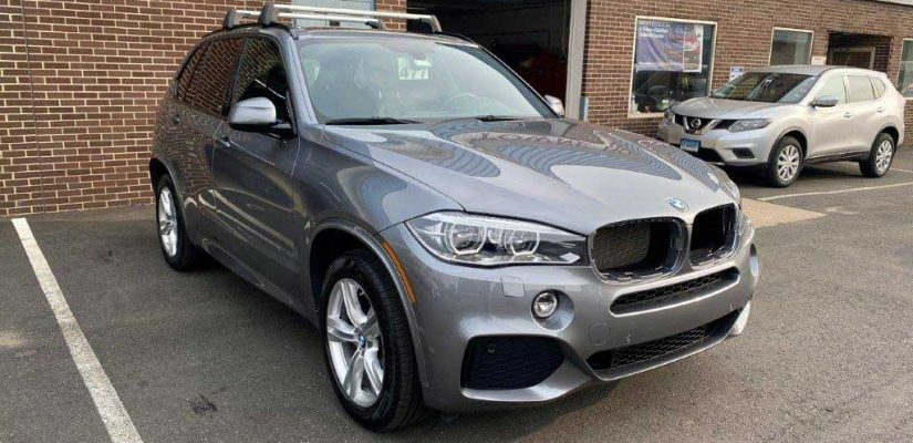 2016 BMW X5 front damage repair