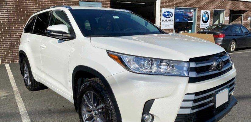 2017 Toyota Highlander right side damage repair