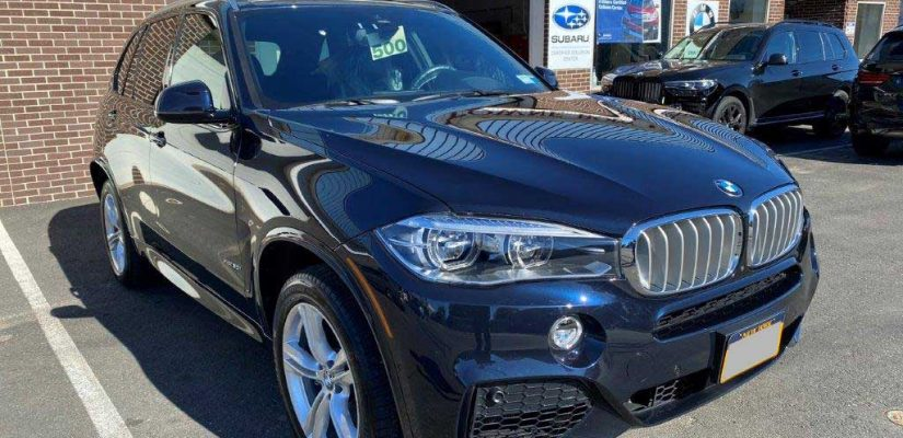 2018 BMW X5 right side damage repair