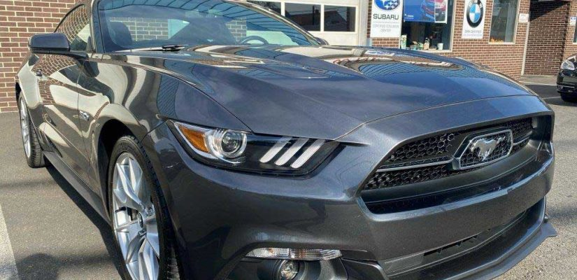 2016 Ford Mustang GT front damage repair