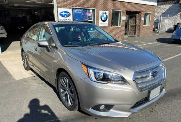 2018 Subaru Legacy right side damage repair