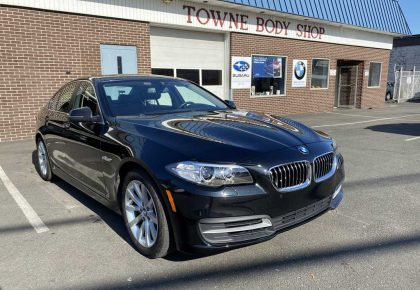 2015 BMW 535D front and rear damage repair