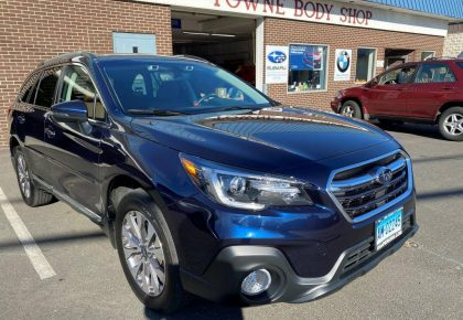 2019 Subaru Outback front damage repair