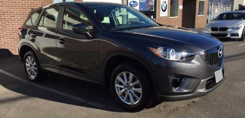 2015 Mazda CX-5 Sport AWD front damage repair