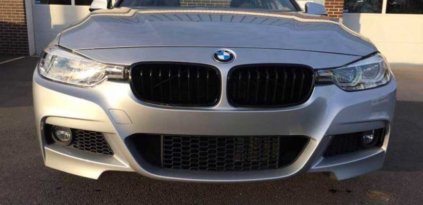2018 BMW 3 Series 340i xDrive front damage repair