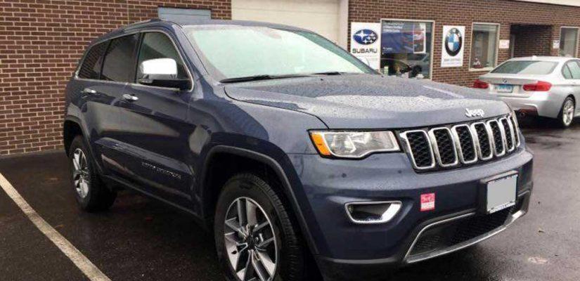 2020 Jeep Grand Cherokee rear damage repair