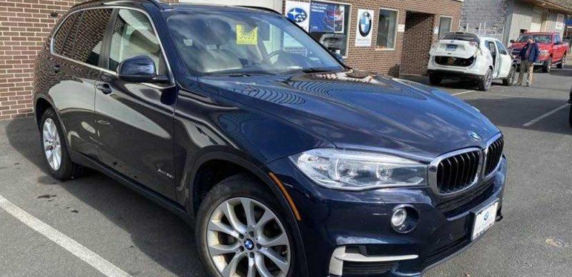 2016 BMW X5 xDrive35i AWD side damage repair