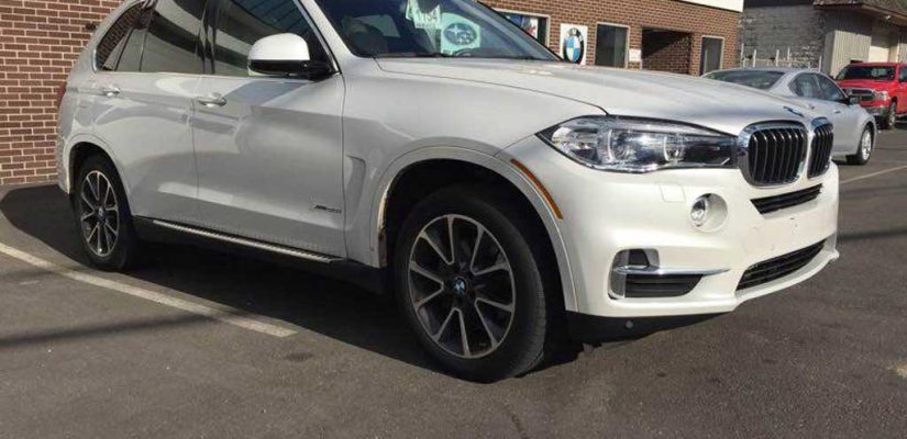 2017 BMW X5 xDrive35i front damage repair