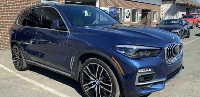 2020 BMW X5 xDrive 40i front damage repair
