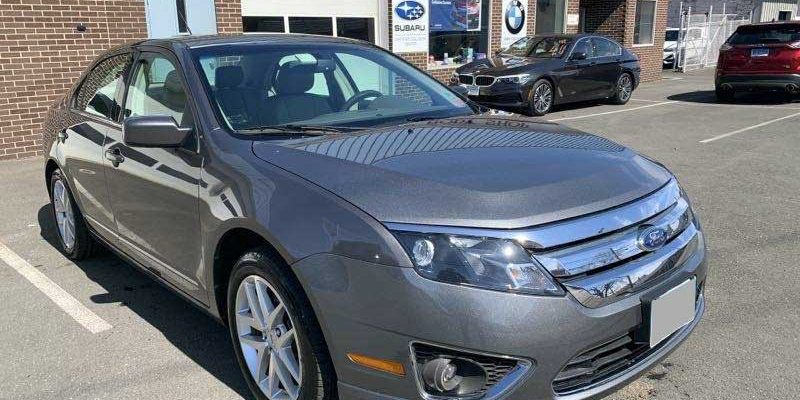2012 Ford Fusion SEL FWD front damage repair