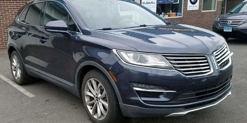 2015 Lincoln MKC FWD front damage repair
